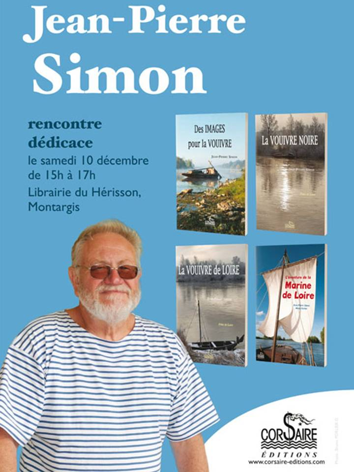 rencontre avec jean pierre simon samedi 10 d cembre 2016 de 15h 17h la librairie du. Black Bedroom Furniture Sets. Home Design Ideas