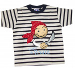 T-SHIRT rayé Pirate bandana enfant