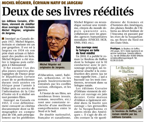 Journal de Gien M. Reignier nov 2016