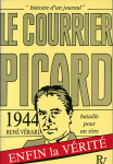 BATAILLE POUR UN TITRE, 1944 LE COURRIER PICARD - René VÉRARD